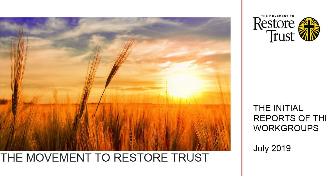 The Initial Report of The Movement to Restore Trust
